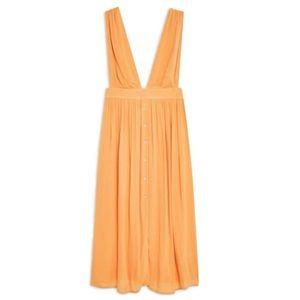 TOPSHOP Plunge Summer Dress